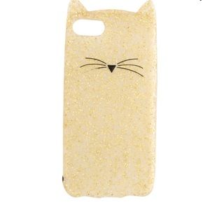 kate spade glitter iPhone 7 case with ears